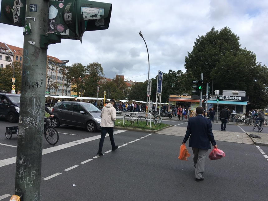 Großer Markt auf den Leopoldplatz