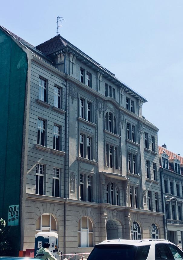 Fassade des Rabbiner-Seminars renoviert