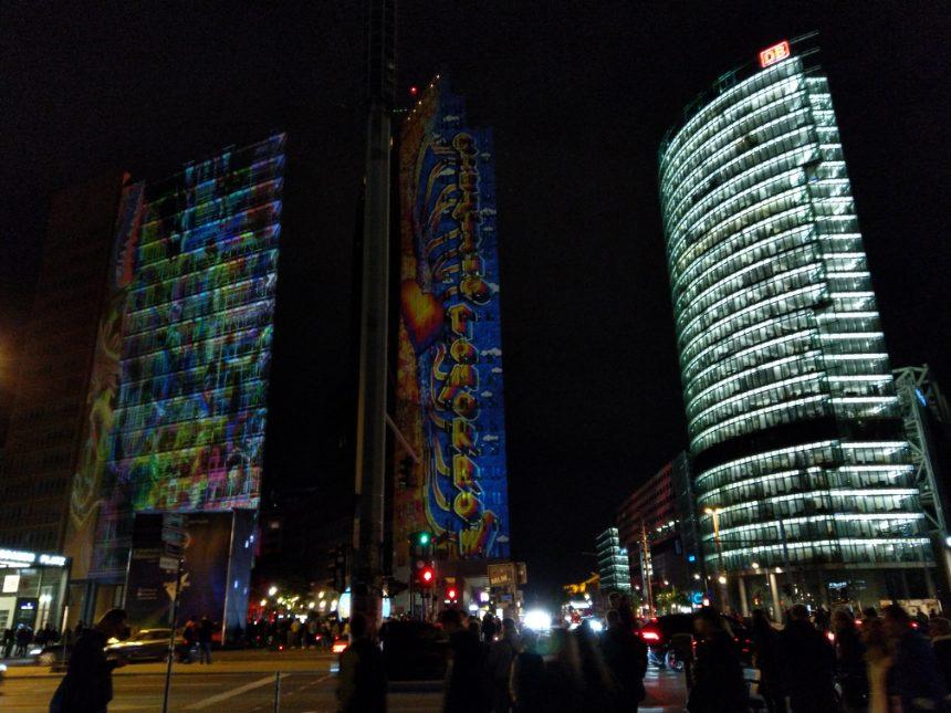 Festival of Lights am Potsdamer Platz