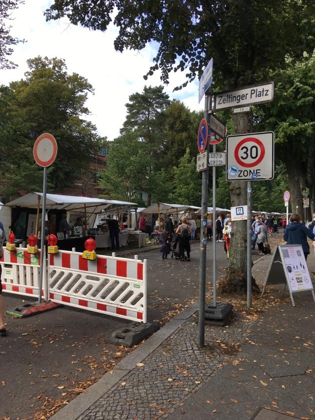 Kunst-Markt in Frohnau