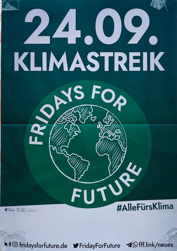 Klimastreik am 24.9.